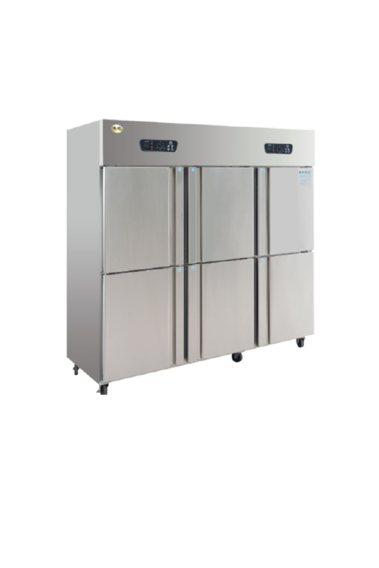 Six Door Freezer
