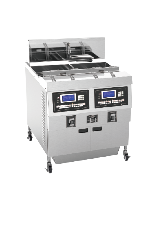 Commercial Double Electric Deep Fryer With Double Tank