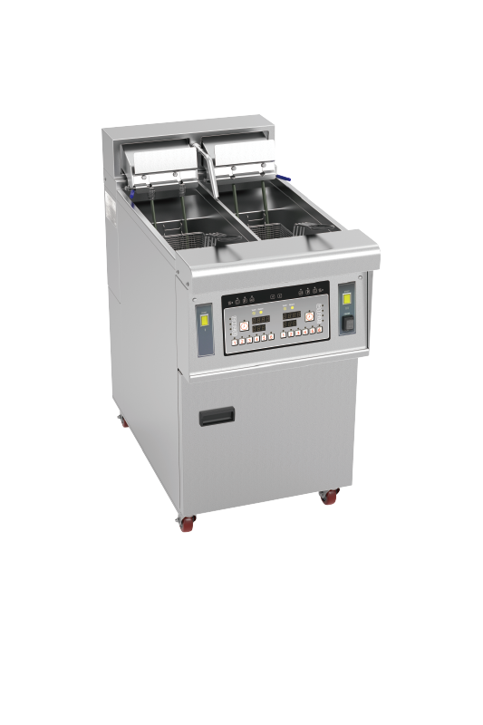 Electric Double Deep Open Fryer With 2 Baskets
