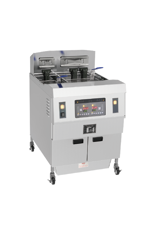 Two Tanks Electric Open Fryer